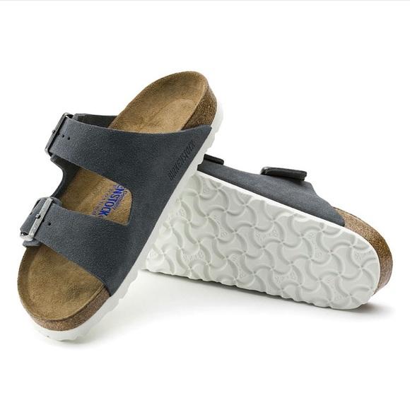 c81ef84e7a6 💙 Arizona Soft Footbed Suede Leather STONE 💙 NWT